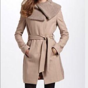Elevenses Trench Camel Judith Collar Coat